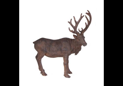 Resin Deer Stand Brown