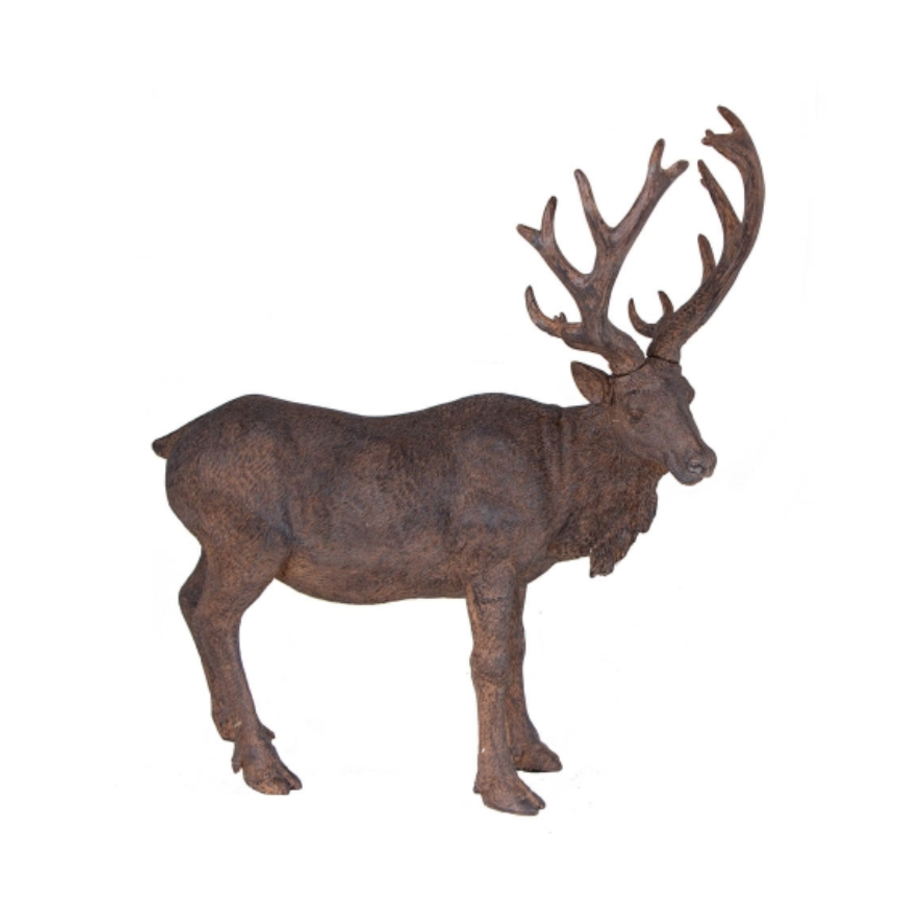Resin Deer Stand Brown-1