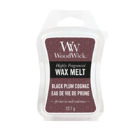 Black Plum Cognac mini wax melts