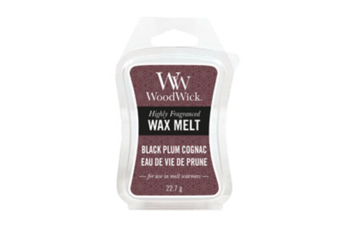 WOODWICK Black Plum Cognac mini wax melts