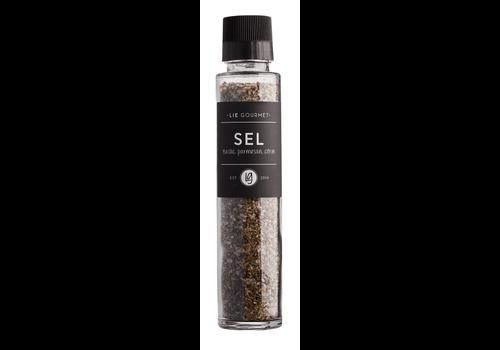 LIE GOURMET Lie Gourmet Salt with Basil/Parmesan/lemon