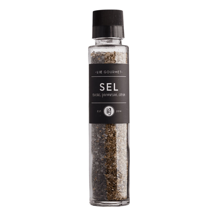 Lie Gourmet Salt with Basil/Parmesan/lemon-1