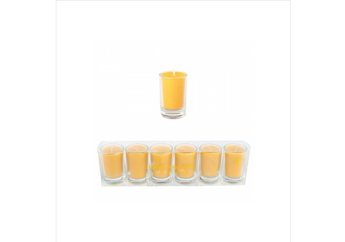 HOME SOCIETY Votive Candles Ocre