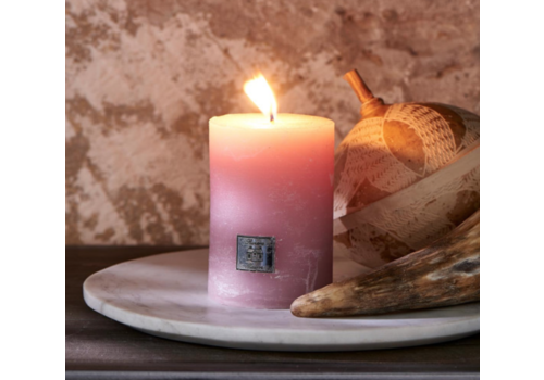 RIVIERA MAISON Rustic Candle faded pink 7 x 10