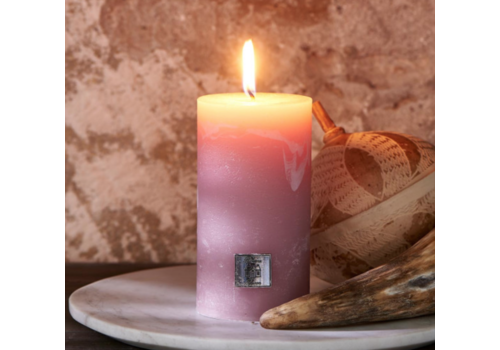 RIVIERA MAISON Rustic Candle faded pink 7 x 13