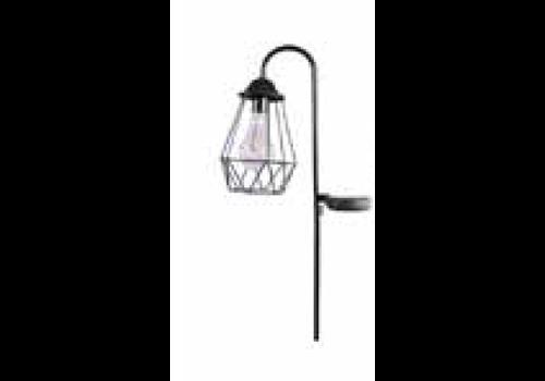 HOME SOCIETY Solar Lamp Joe black