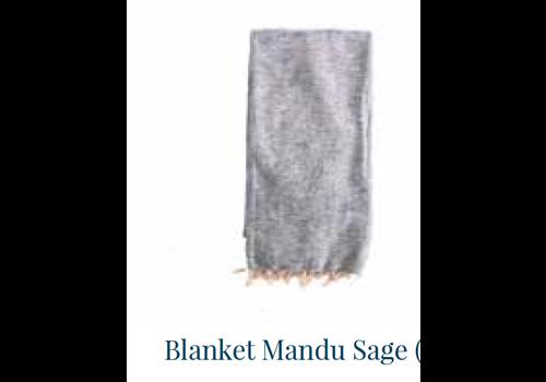 HOME SOCIETY Blanket Mandu Sage 120cm x 200cm
