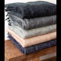 thumb-Blanket Mandu Indigo 120cm x 200cm-1