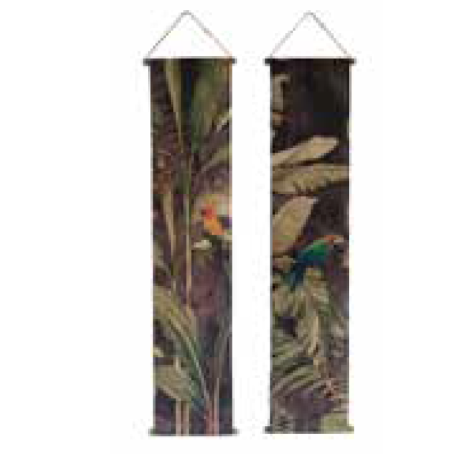 Wall Deco Parrot Set 175cm x 35cm-1