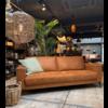 THUISHAVEN 3-Zits bank eco leather cognac