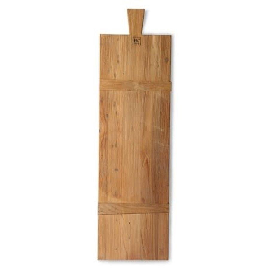 breadboard reclaimed teak square L-1
