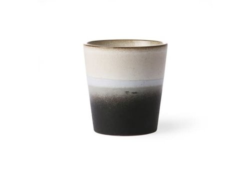 HKLIVING ceramic 70's mug: rock ace6043