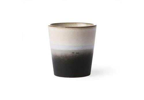 HKLIVING ceramic 70's mug: rock