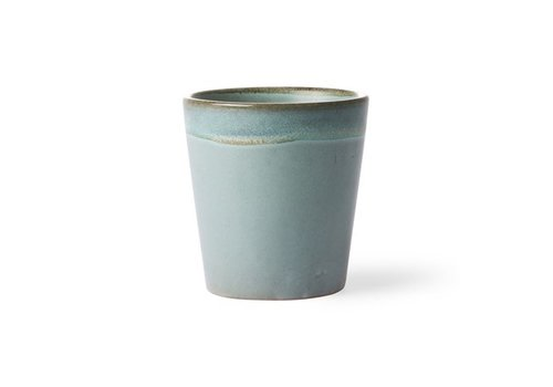 HKLIVING ceramic 70's mug: moss ace6046