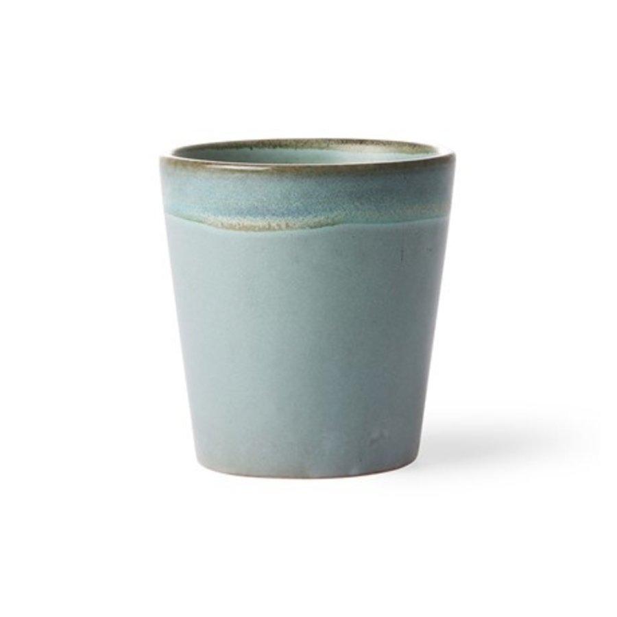 ceramic 70's mug: moss ace6046-1