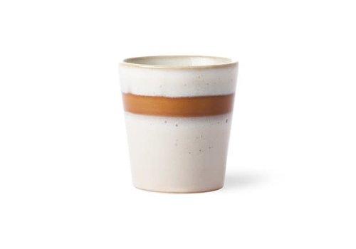 HKLIVING ceramic 70's mug: snow