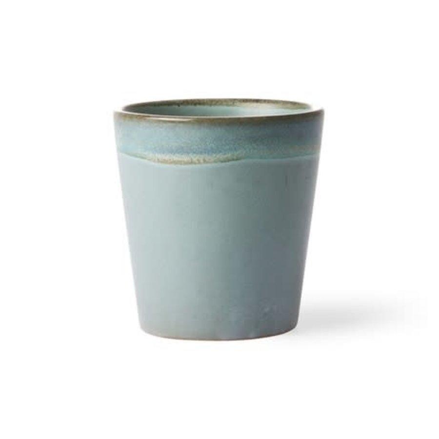ceramic 70's mug: moss-2
