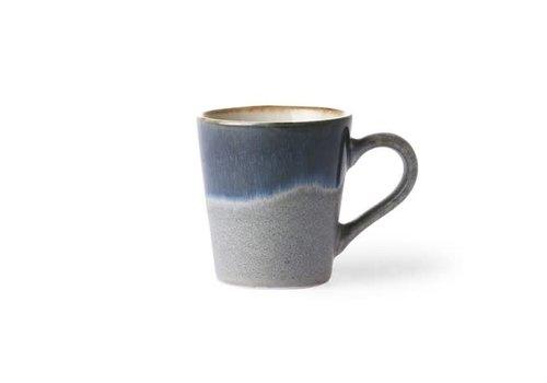 HKLIVING Ceramic 70's espresso mug ocean ace6048