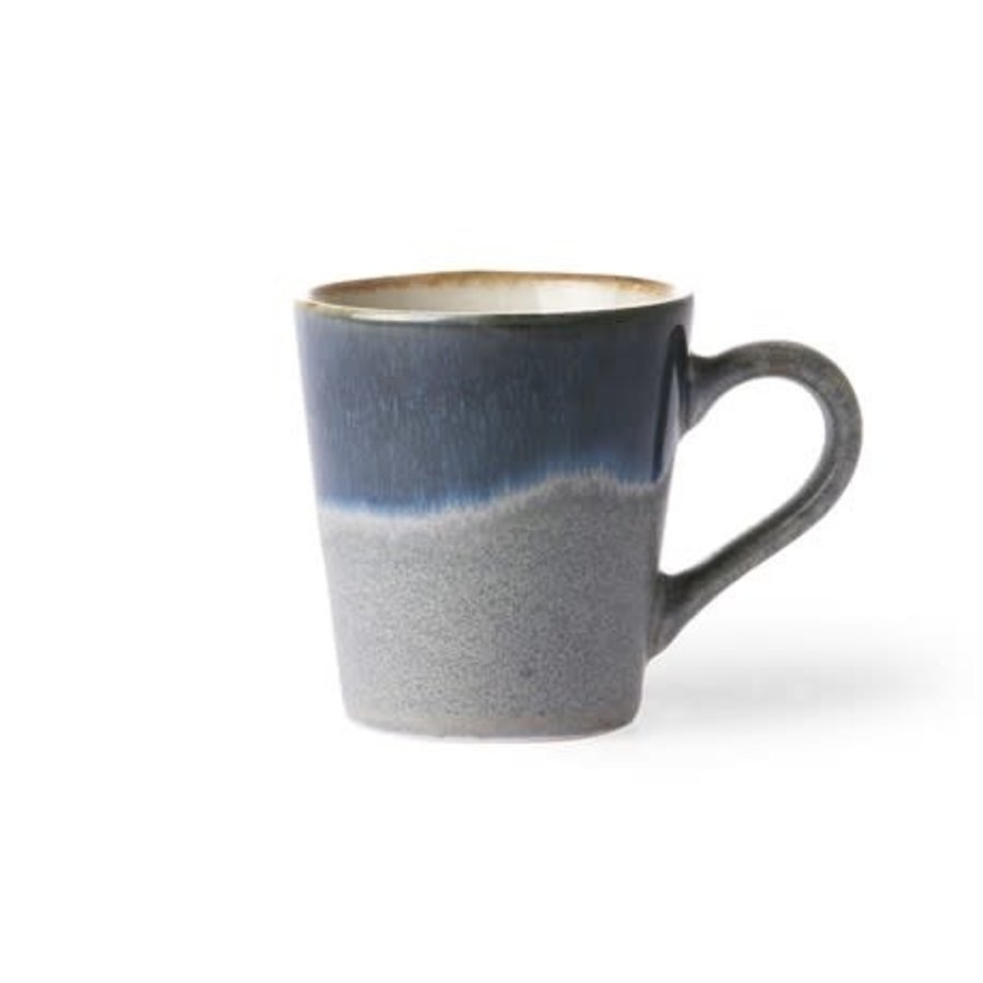 Ceramic 70's espresso mug ocean-1