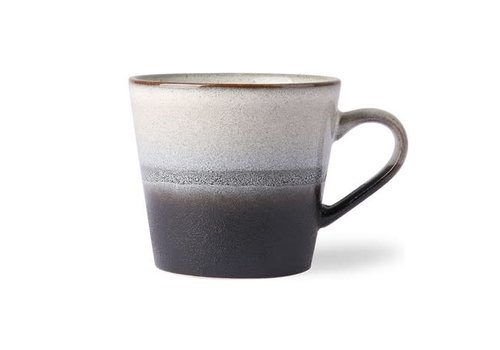 HKLIVING ceramic 70's cappuccino mug: rock