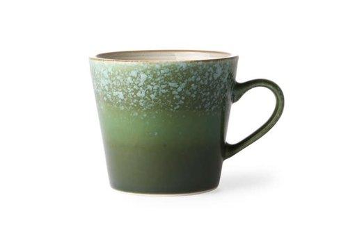 HKLIVING ceramic 70's cappuccino mug: grass