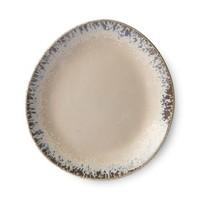 ceramic 70's side plate: bark ace6763