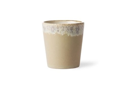 HKLIVING ceramic 70's mug: bark ace6768