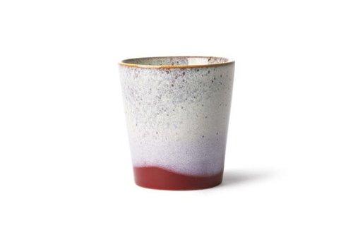 HKLIVING ceramic 70's mug: frost