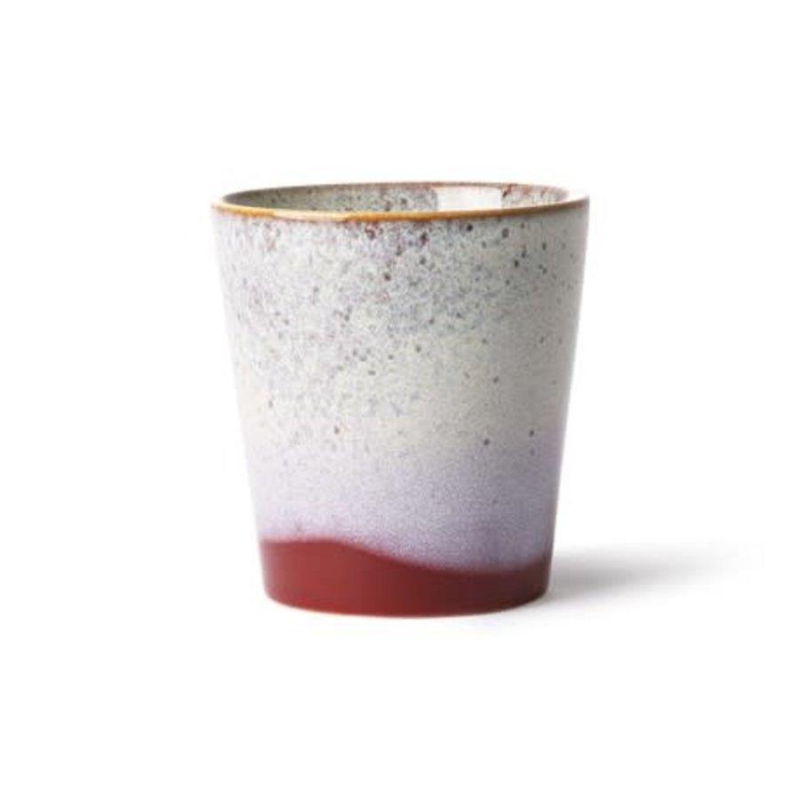 ceramic 70's mug: frost-1