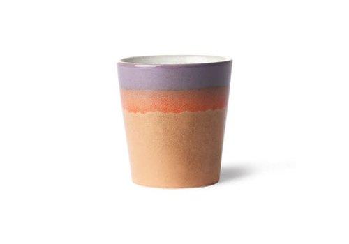 HKLIVING ceramic 70's mug: sunset