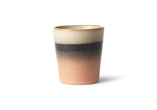 HKLIVING ceramic 70's mug: tornado