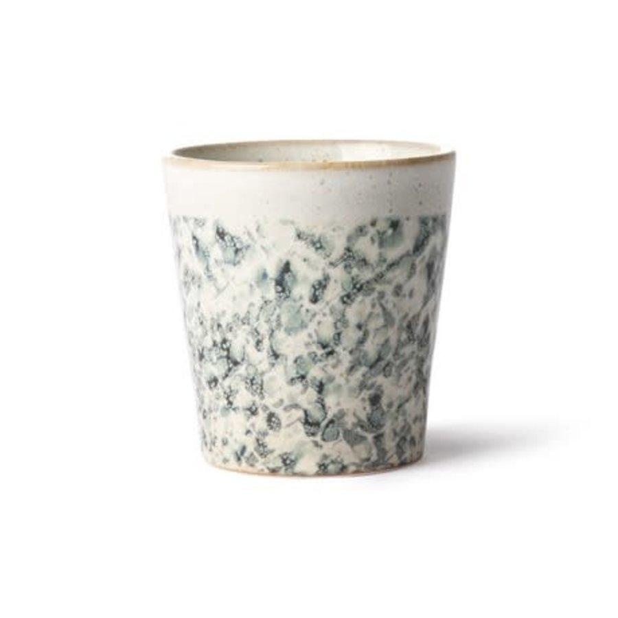 ceramic 70's mug: hail-1