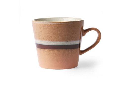 HKLIVING ceramic 70's cappuccino mug: stream ace6865