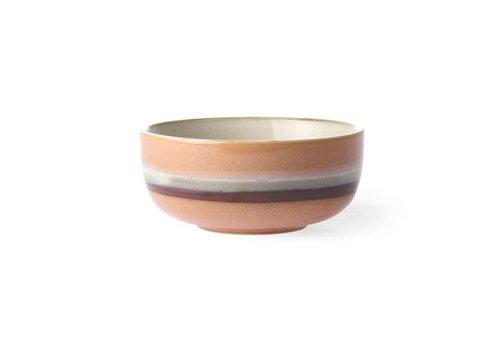 HKLIVING ceramic 70's bowl medium Tornado ace6878