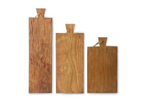 HKLIVING breadboard teak set of 3
