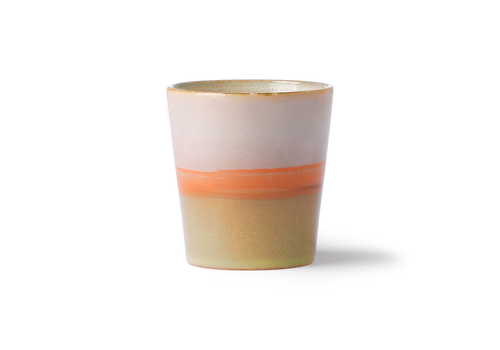 HKLIVING ceramic 70's mug: saturn ace6903