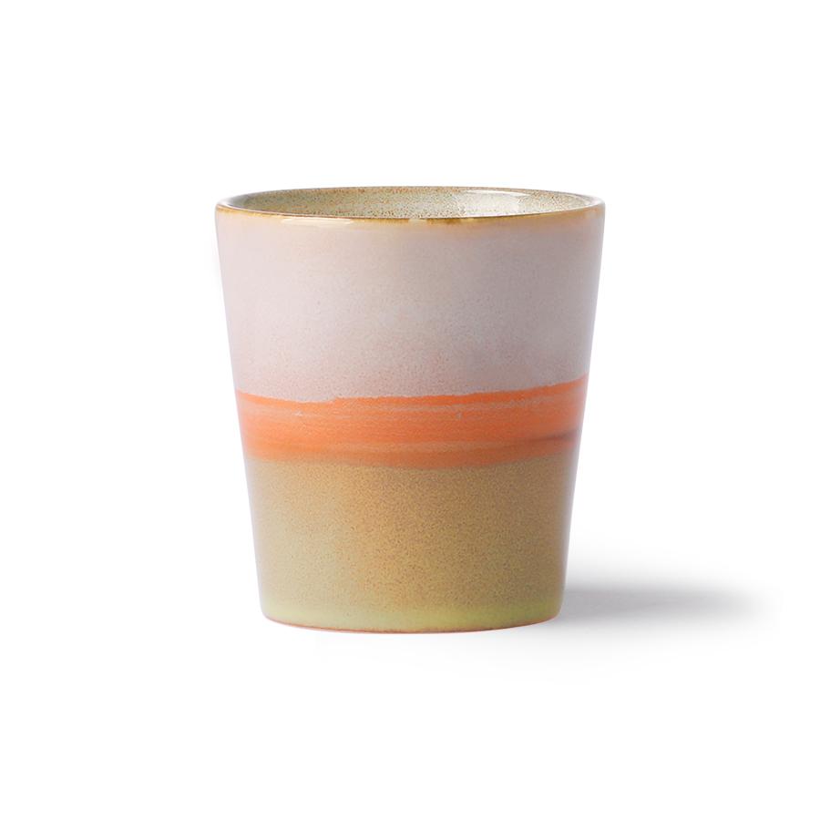 ceramic 70's mug: saturn ace6903-1