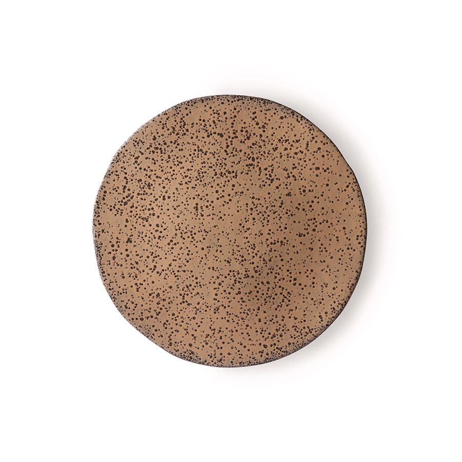 gradient ceramics: side plate taupe ace6899-1