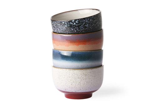 HKLIVING ceramic 70's noodle bowls