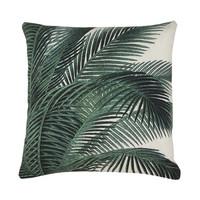 printed cushion palm leaves (45x45)