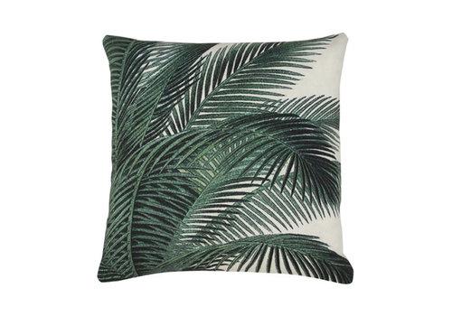 HKLIVING printed cushion palm leaves (45x45)