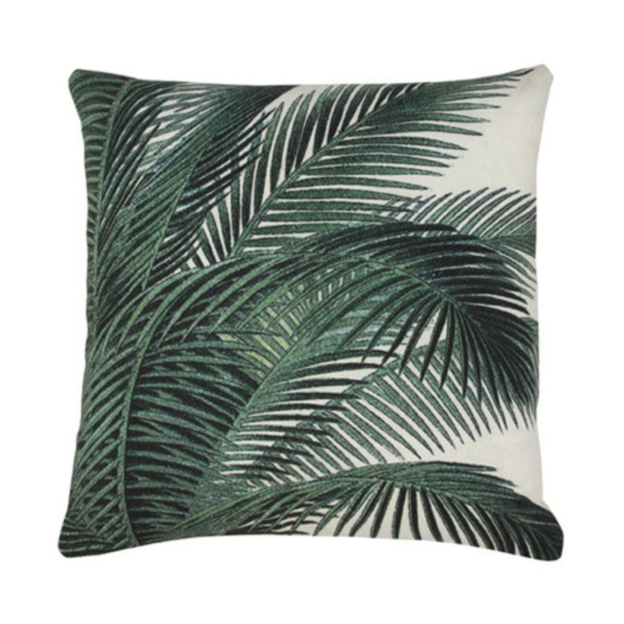 printed cushion palm leaves (45x45)-1