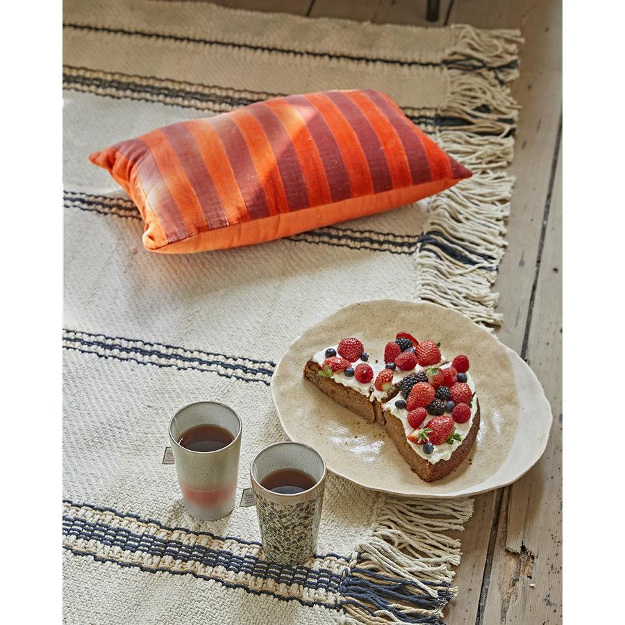 decorative ceramic plate organic-4