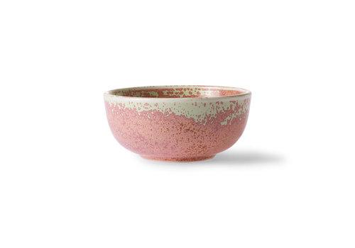 HKLIVING home chef ceramics: bowl rustic pink