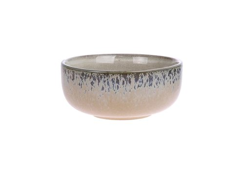 HKLIVING ceramic 70's bowl medium: bark