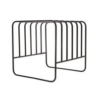 thumb-metal wire plate rack matt black-1