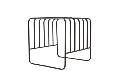 HKLIVING metal wire plate rack matt black