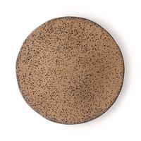 gradient ceramics: dinner plate taupe