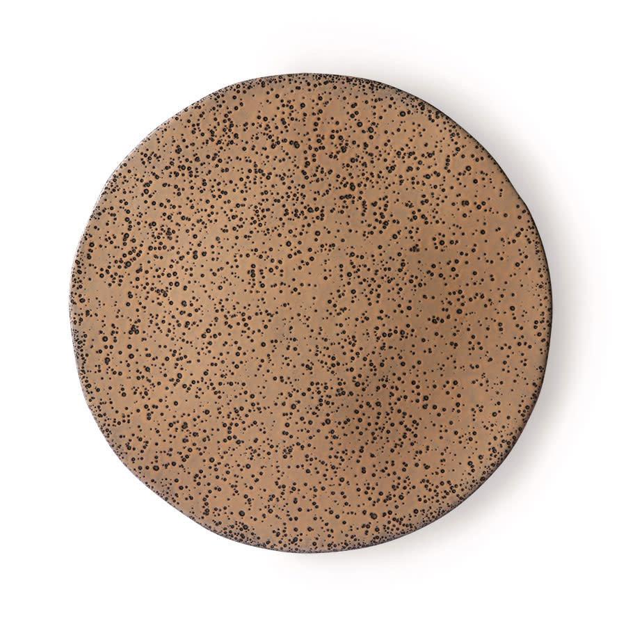 gradient ceramics: dinner plate taupe-1