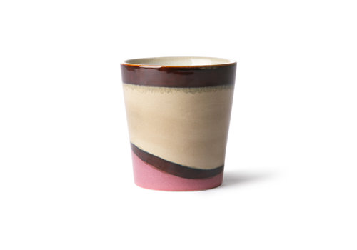 HKLIVING ceramic 70's mug: dunes ace6862